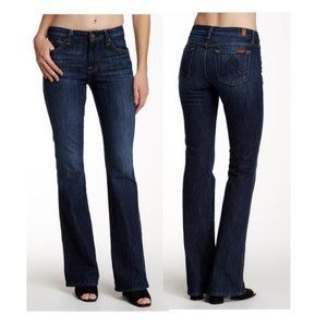 7 For All Mankind A - Pocket Flare Jean Dark Wash